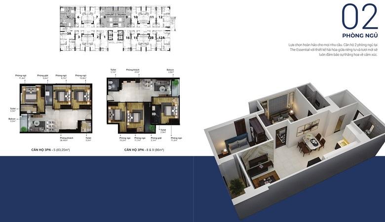 Thiết kế chi tiết căn hộ Eco Xuân Lái Thiêu Bình Dương