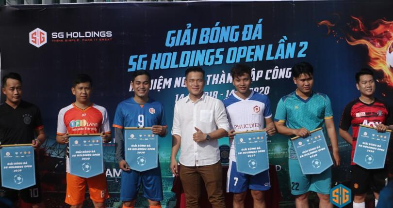 SG Holdings tổ chức giải Bóng đá nhân dịp kỉ niệm 02 năm thành lập Công ty