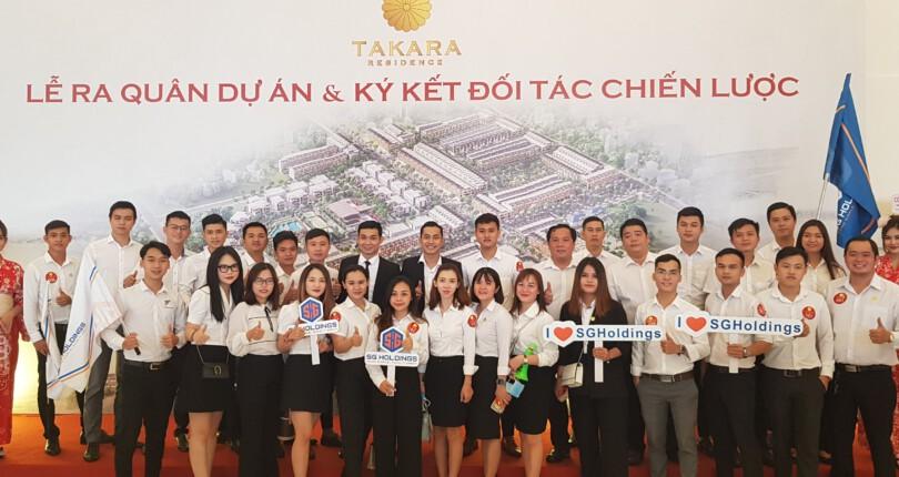 Lễ Kick off  và ký kết chiến lược dự án Takara Residence