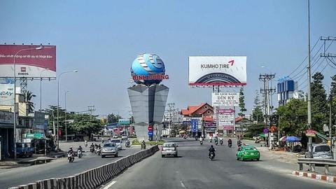 Triển khai trục đại lộ kinh tế, tài chính và dịch vụ tại Thuận An – Bình Dương