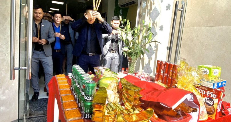 SG Holdings Tưng bừng Lễ khai trương đầu năm Tân Sửu 2021 –  Khai Xuân Lộc Phát