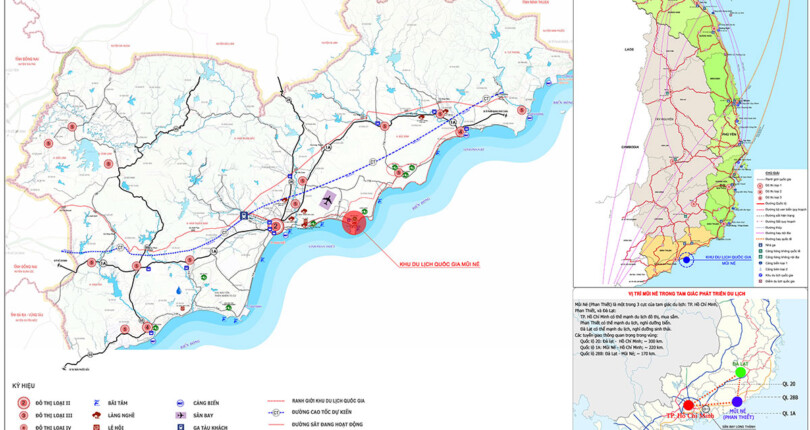 Quy hoạch tổng thể phát triển Khu du lịch quốc gia Mũi Né, tỉnh Bình Thuận