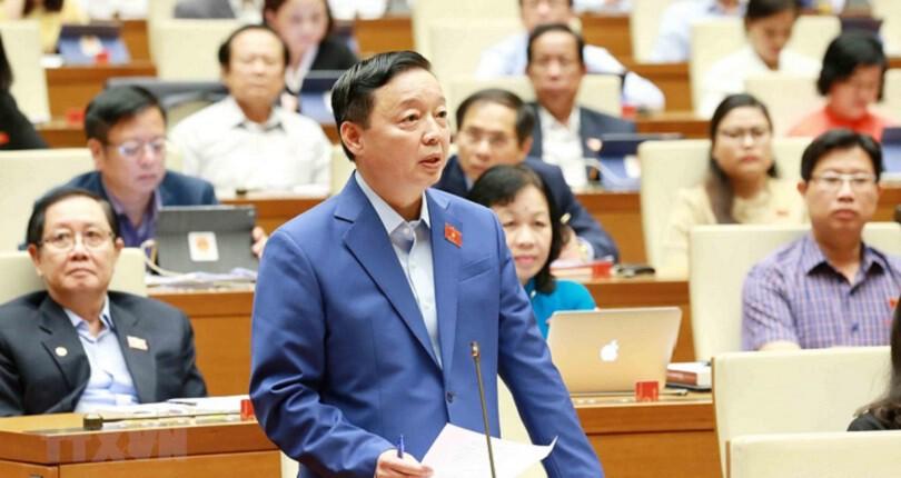 Quốc hội: Hai Bộ trưởng chia sẻ về cấp sổ hồng cho bất động sản
