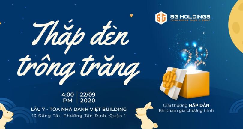 Thắp đèn trông trăng – Tết trung thu của gia đình SG Holdings