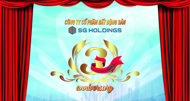 Kỷ niệm ngày thành lập SG Holdings