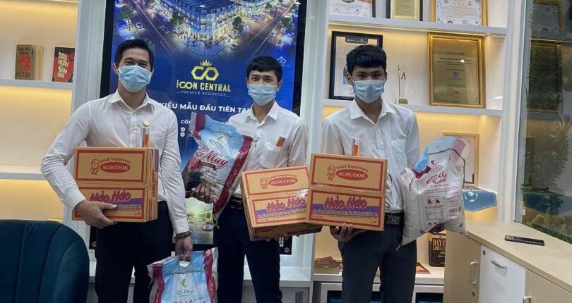 SG Holdings tặng quà CBNV hỗ trợ mùa dịch Covid-19