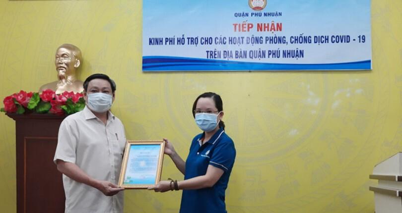Chương trình thiện nguyện cùng SG Holdings đến với MTTQ Q. Phú Nhuận